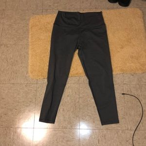 Gray aerie high waisted chill play move leggings